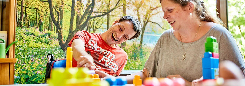 Zentrum für körperlich Schwerbehinderte